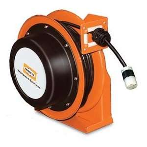 Hubbell Gca14325 Sr Industrial Duty Cord Reel With Single Outlet   14