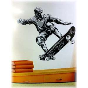 Extreme Sports Skateboard Wall Mural Sticker Decal