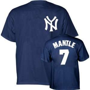 Mickey Mantle Majestic Cooperstown Throwback Player Name