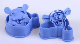 Disney Winne Pooh Bear Tiger Cookie Cake Cutter Stamp Mold Mould free