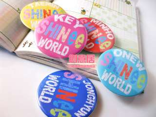 SHINee   SHINee World TAEMIN Notebook+Badge SET NEW