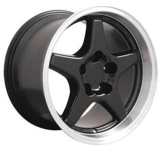 17 x 9.5/11 C4 ZR1 Wheels Rims Fit Camaro Corvette