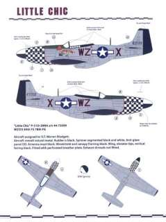Zotz Decals 1/32 THE DUXFORD EAGLES 78th Fighter Group P 51 Mustangs