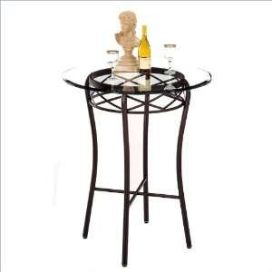 36 Round Tempo Madera 40 Bar Height Pub Table Furniture & Decor