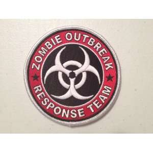 Resident Evil Zombie Outbreak Response Biohazard Team Embroidered