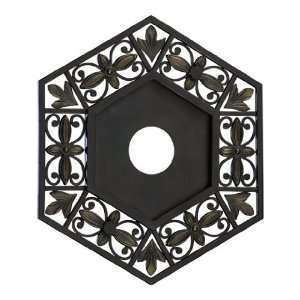 Quorum International 7 6131 86 Ceiling Medallion   Oiled