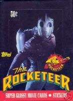 ROCKETEER MOVIE 1991 TOPPS TRADING CARD BOX