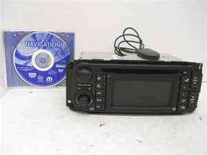 Dodge Chrysler Jeep Navigation CD Player Radio RB1 OEM