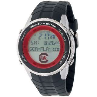 South Carolina Gamecocks Mens Schedule Wrist Watch