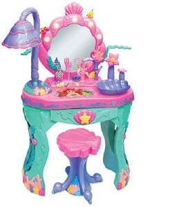 Disney Princess Ariels Little Mermaid Girl Magical Vanity & Talking