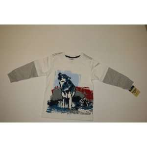 White Wolf long sleeved shirt Baby