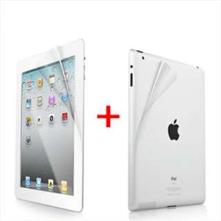 Front+Back Full Body LCD Screen Protector Film Guard For iPad 2 The