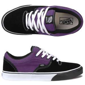 Vans Rowley Style 99s Black / Purple Skateboarding Skate Shoes