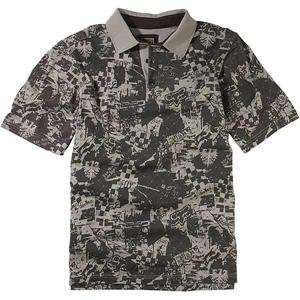 Fox Racing Wasteland Polo   Small/Dark Stone Automotive