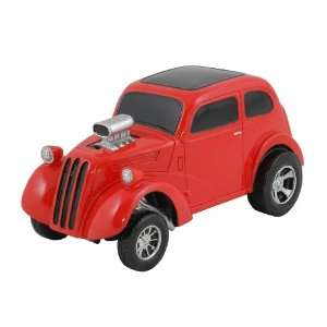 1948 ANGLIA GASSER, RED, COLLECTIBLE 118 SCALE MODEL, HOT ROD, STREET