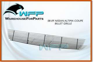08 09 10 Nissan Altima Coupe Bumper Billet Grille Grill