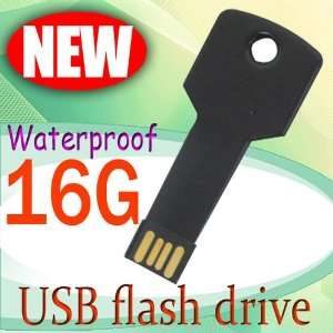 New 16GB Metal Key Shape USB 2.0 Flash Memory Pen Drive Stick Thumb
