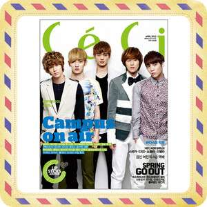 CeCi] April 2012 Korean Magazine K Pop SHINEE, BIG BANG, EXID w/ Free