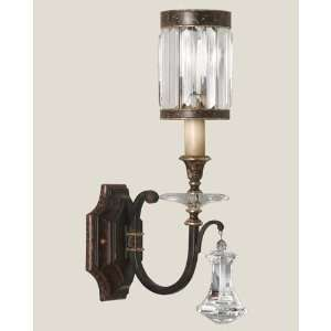 582850ST Eaton Place 1 Light Sconces in Rustic Iron