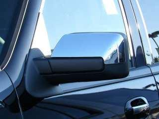 2007 2010 FORD EXPEDITION CHROME MIRROR COVERS By TFP