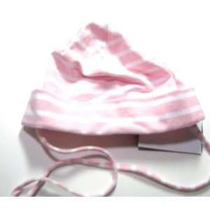 Strings Infant And Toddler Summer Hat Pink Stripes 45 (6 12 months
