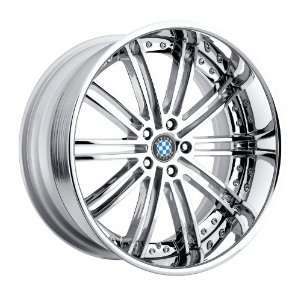 19x8.5 Beyern Baroque (Chrome) Wheels/Rims 5x120 (1985BYB185120C72)