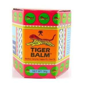 Thai Original Tiger Balm Red Warm Massage 1.06 Oz [Pack 6