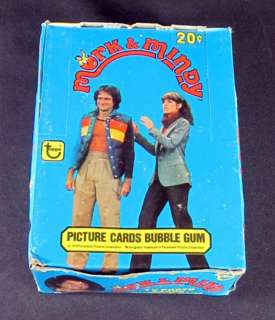 1979 Topps Mork & Mindy Trading Card Box 36 Packs