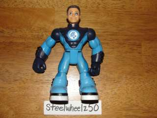 & Friends Mr Fantastic Action Figure 2006 Marvel Toy Biz Four Super