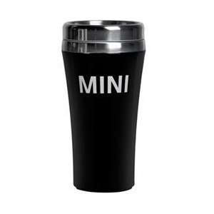 MINI Cooper Black Travel Tumbler Automotive