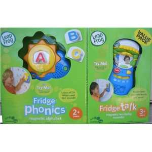 Leap Frog Fridge Phonics Plus Bonus Fridge Talk Toys & Games