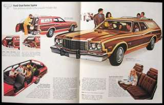 1974 Ford Station Wagon Brochure Galaxie Torino LTD