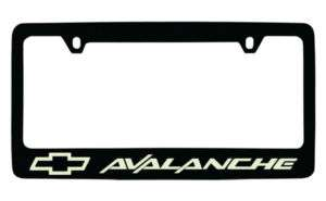 CHEVROLET CHEVY AVALANCHE LICENSE PLATE FRAME HOLDER