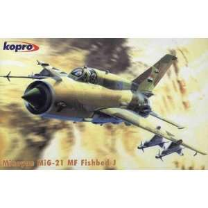 Kopro Mig 21MF Fishbed Russian Fighter Toys & Games
