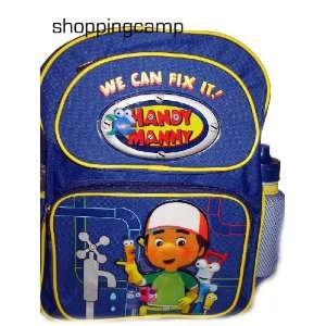 Disney Handy Manny Kids Backpack Bag Tote Toys & Games