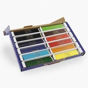 240 Pc Cool Colored Pencil Classpack   Basic School Supplies & Colored