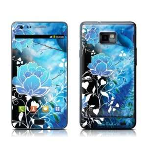 Peacock Sky Design Protective Skin Decal Sticker for Samsung Galaxy S