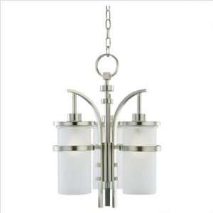 Sea Gull Eternity 6 Light LED Outdoor Pendant Brushed