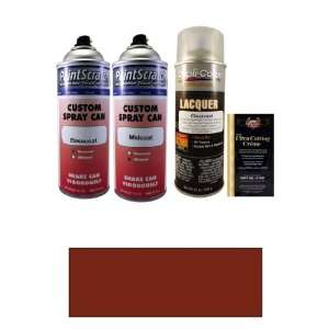Dark Red Pearl Tricoat Spray Can Paint Kit for 2013 Lexus LX570 (3R7