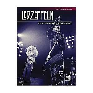 Led Zeppelin Easy Guitar Anthology Book Sports