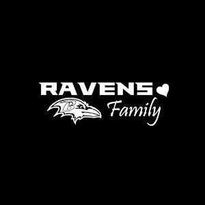 Baltimore Ravens Family Car Window Decal Sticker 8