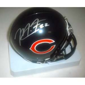 Matt Forte Chicago Bears Hand Signed Autographed Mini Football