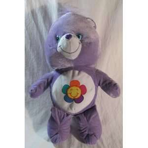 Large Harmony Care Bear Purple 19in Plush Doll Everything