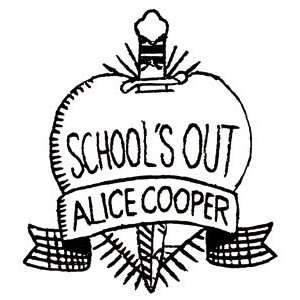 Alice Cooper Schools Out Window Decal Sticker S 5273 R