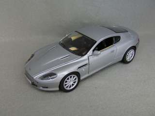 Aston Martin DB9 Coupe   Diecast Car   Silver  124