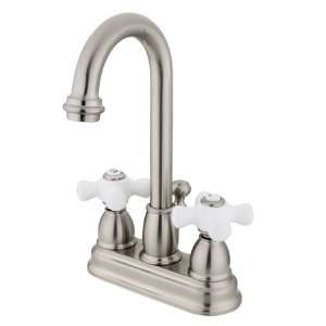 Kingston Brass Restoration kb3618px Lavatory Faucet 4 inch