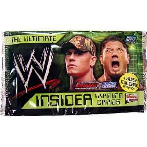Topps WWE Insider Retail Edition Trading Cards Pack Toys