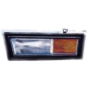 Lincoln Town Car Replacement Side Marker Light (In Bumper)   Passenger