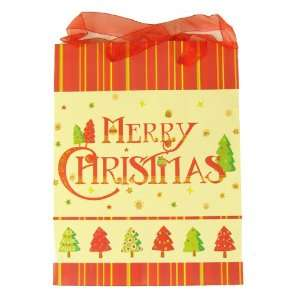 Club Pack of 48 Merry Christmas Holiday Gift Bags 9