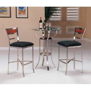 Yuan Tai Laurel 3 Pc Pub Set Bar Table, 2 Bar Chairs
